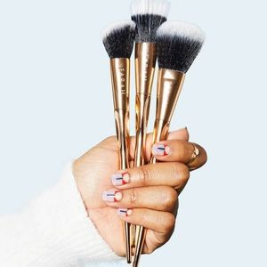 F.A.R.A.H BRUSHES Gold Face Brush Trio